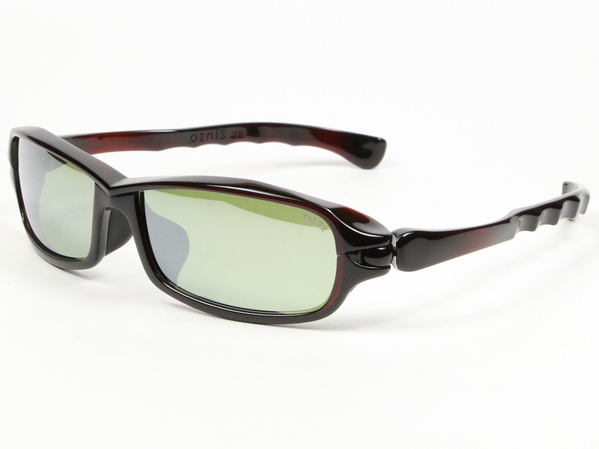 TALEX(タレックス)度なしサングラス製作例 OZNIS 9B01(オズニス・ナインボール01)