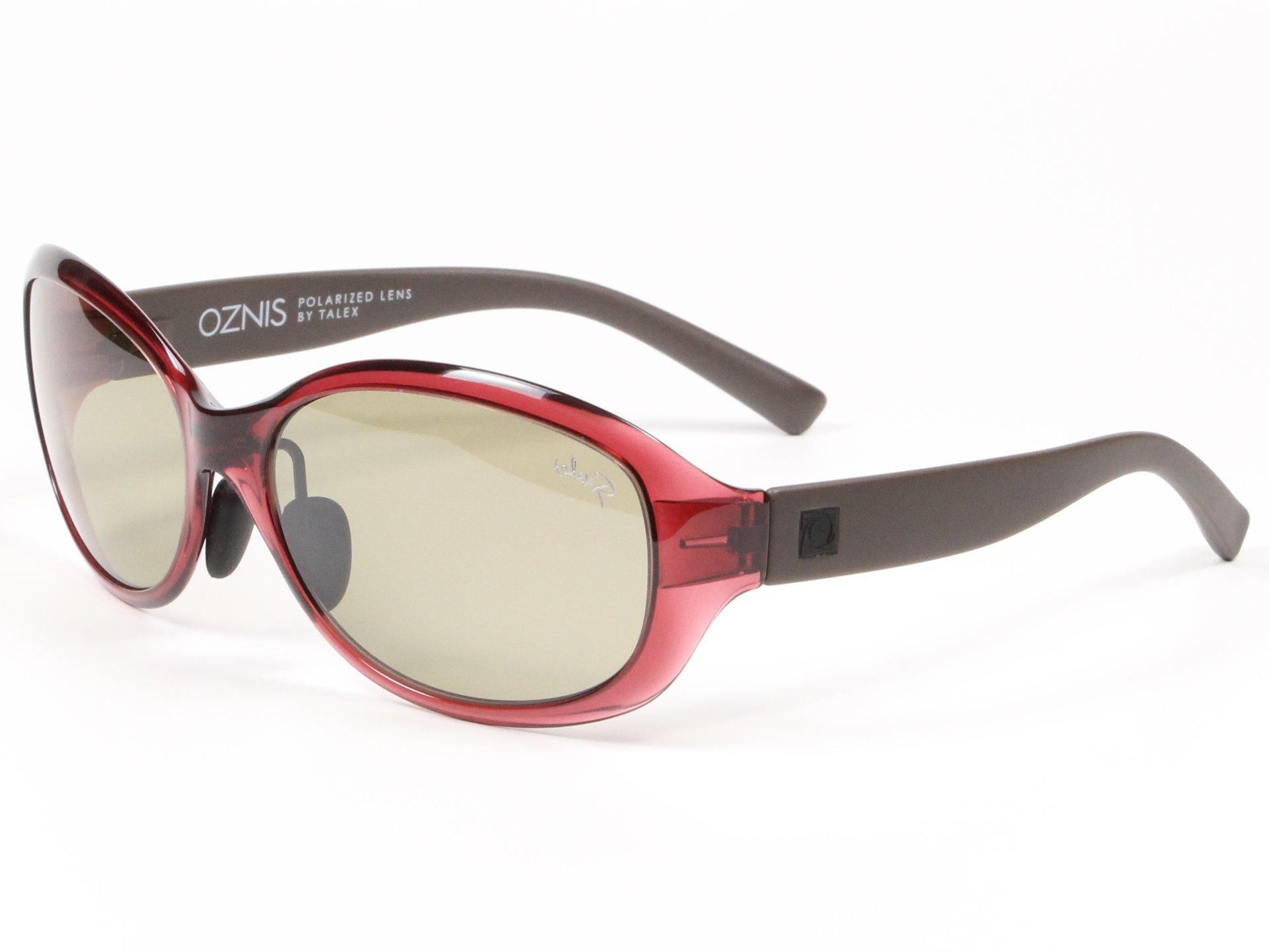 TALEX(タレックス)度なしサングラス製作例 OZNIS FLAT02(オズニス・フラット02)