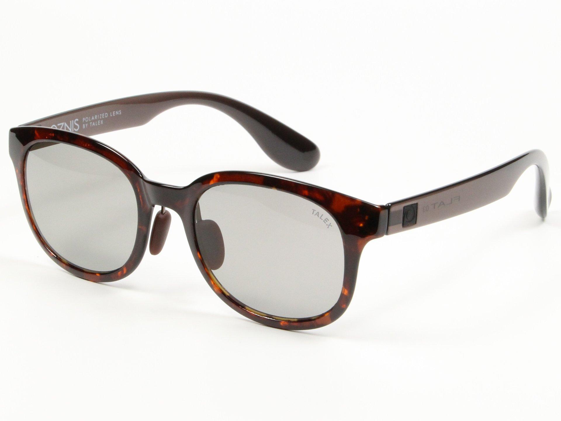 TALEX(タレックス)度なしサングラス製作例 OZNIS FLAT03(オズニス・フラット03)
