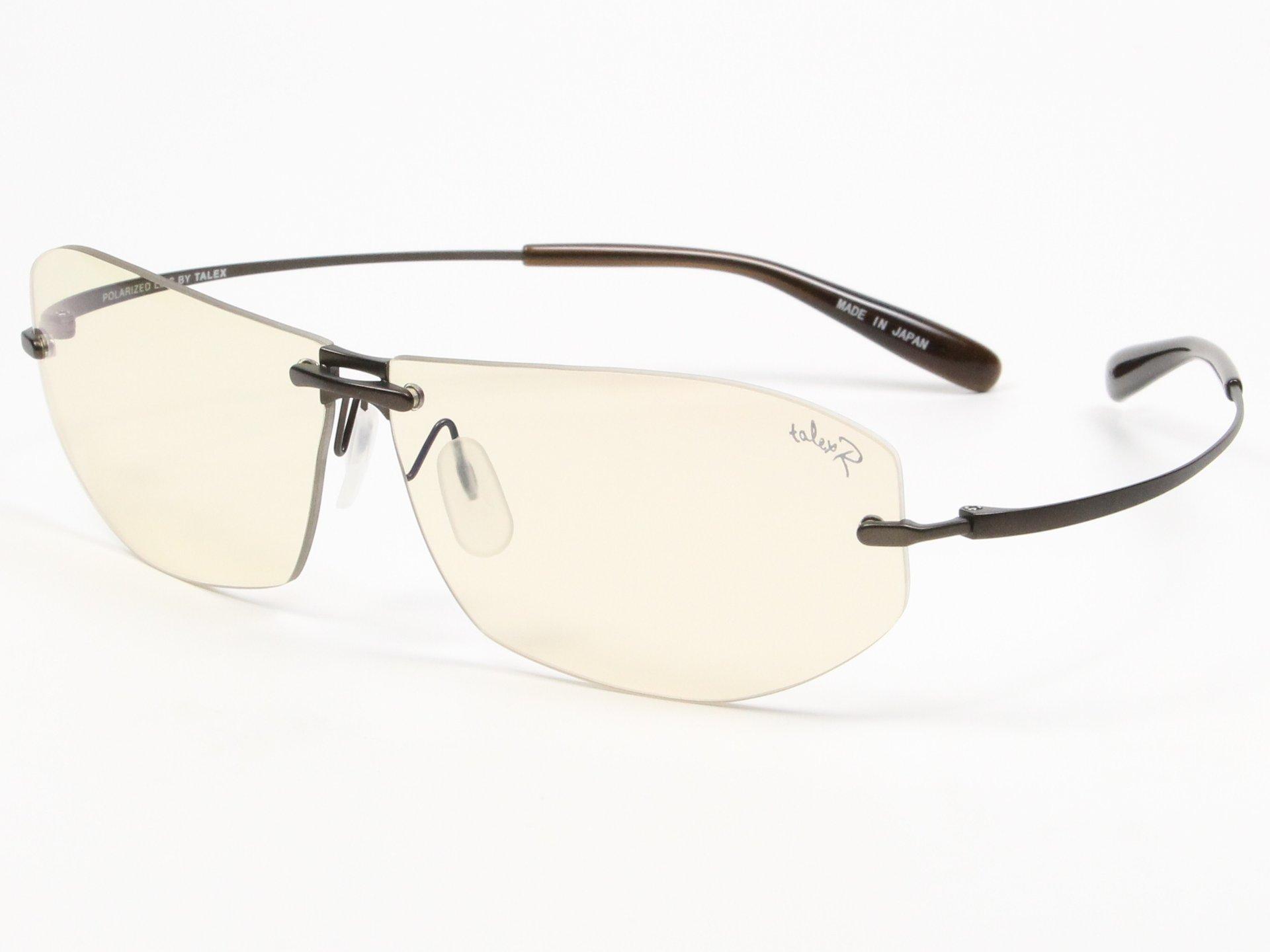 TALEX(タレックス)度なしサングラス製作例 OZNIS XII FACE RX(オズニス・トゥエルブフェイスRX)
