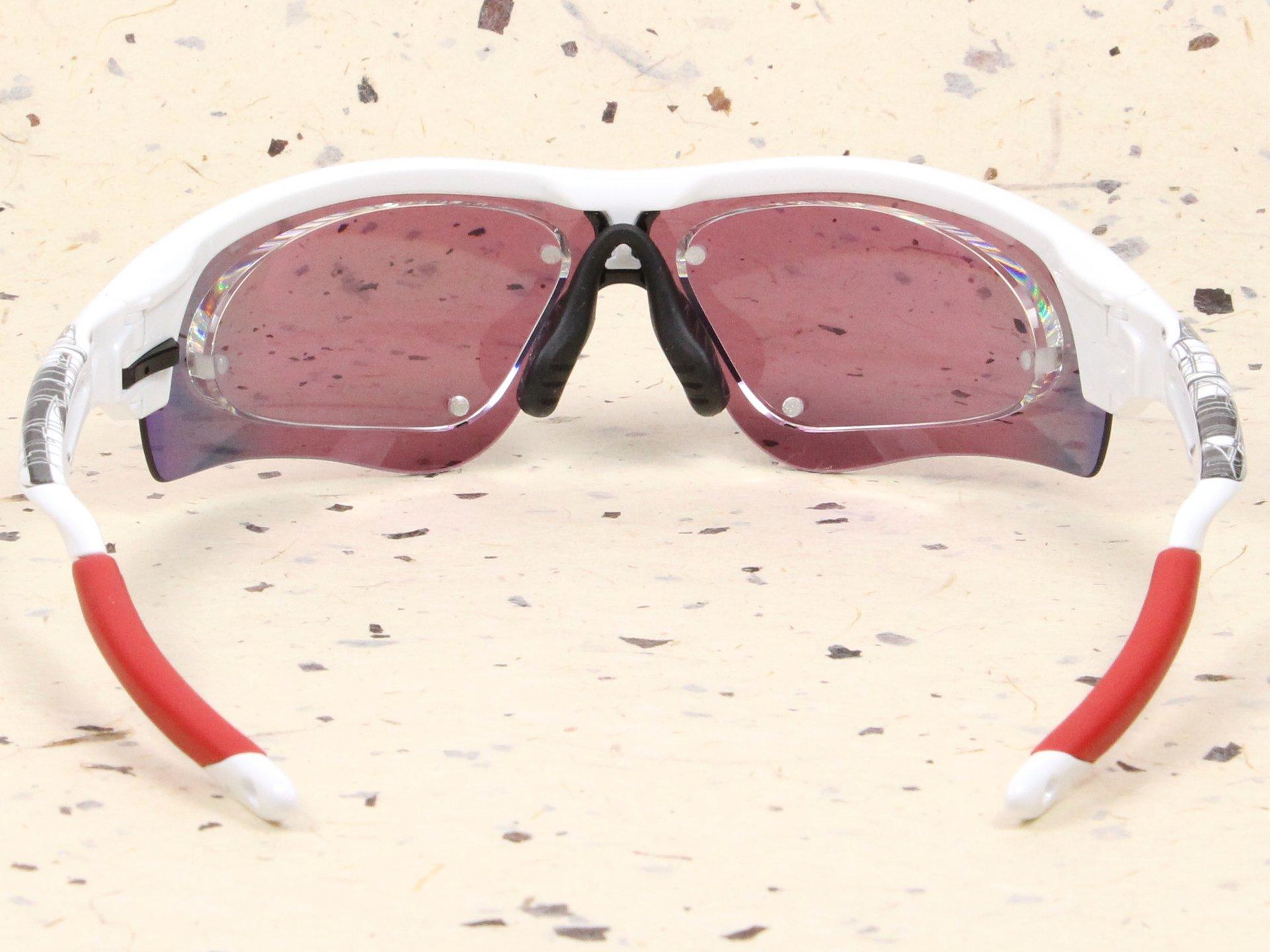 OAKLEY×スイッチマグ 度付スポーツサングラス製作例 RADARLOCK(オークリー・レーダーロック) 背面