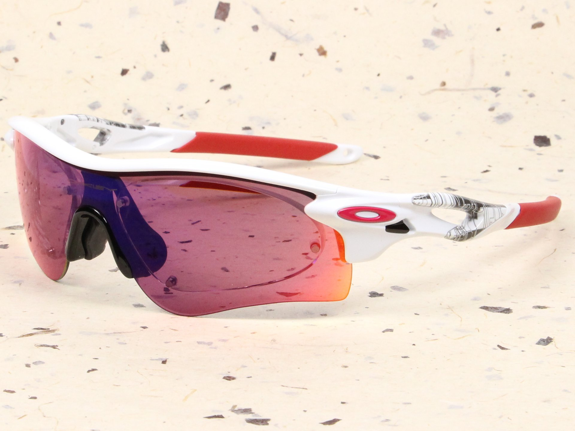 OAKLEY×スイッチマグ 度付スポーツサングラス製作例 RADARLOCK(オークリー・レーダーロック)